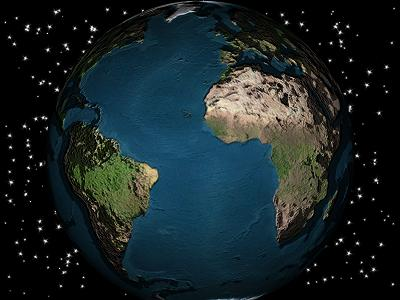 Free 3D Screensaver - The Earth is our homeland, or the third ...